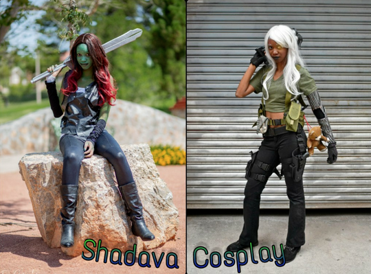 Shadava Cosplay will be at the Eastern Shore Comicon in Cheriton, Virginia on Saturday, April 20, 2019.
