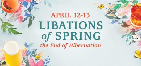 Kohler will host Libations of Spring on April 12 and 13.