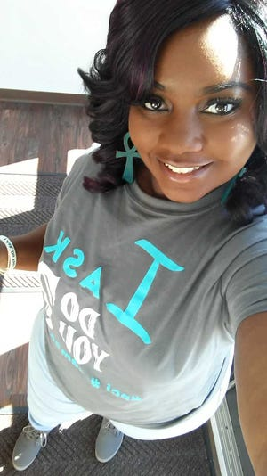 Williams began volunteering for Project Celebration, Inc. She's currently an employee who assists victims of sexual assault