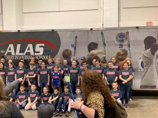 Haughton Elementary shooters gather at the ALAS event on Saturday.
