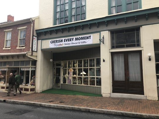 Cherish Every Moment, an up-cycled home decor and gift store, has moved to a different storefront in downtown Staunton.