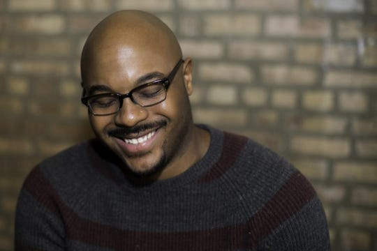 Poet and rapper Nate Marshall is coming to Word of South on Sunday.