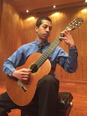 Jeremy Ávalos will perform at lute suite at the Bach on Guitar concert Friday.