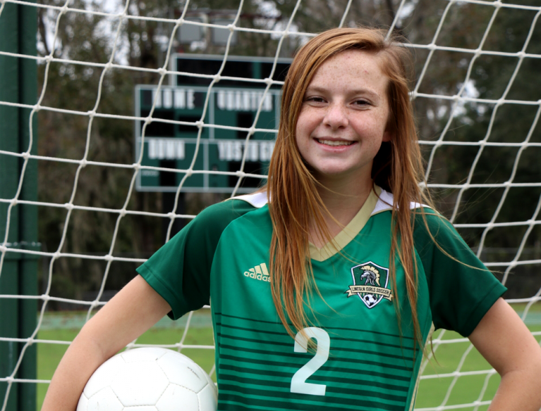 Lincoln junior midfielder Chase Merrick was named to the 2019 All-Big Bend girls soccer first team.