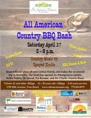 The 2019 All American Country BBQ Bash will be April 27 at St. Francis Manor.