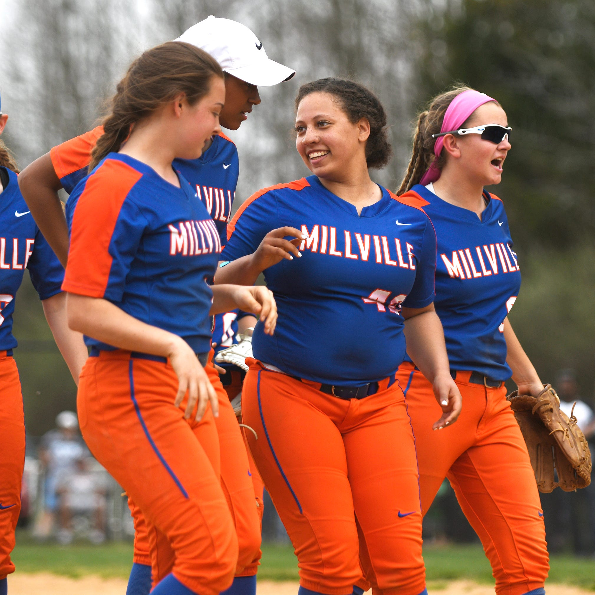 High school softball: Markee, Millville shoot down win over Vineland