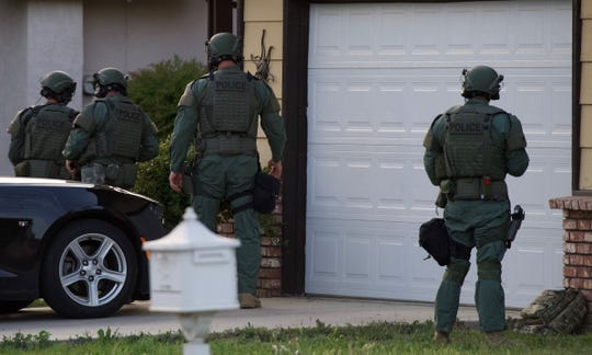 At about 5:30 p.m. Sunday, Visalia Police officers were called to a domestic disturbance that turned into a hostage situation in 2000 block of East Hillcrest Drive.