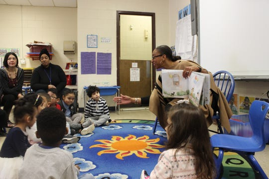 A recent event at the Lois Bronz Children's Center called Read Across America Day, in honor of the birthday of Dr. Seuss.  Prominent women, including Andrea Hamilton, a vice principal at the Alexander Hamilton Jr/Sr High School in Elmsford read to children.  State Senator Andrea Stewart-Cousins, Legislator Alfreda Williams, and Kathy Halas, executive director of the Child Care Council, also read to children.