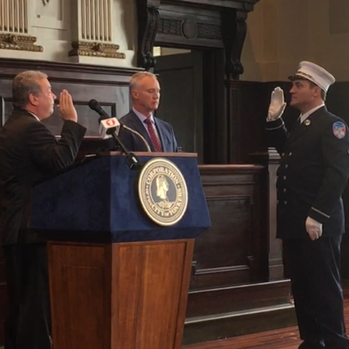 Yonkers Fire Department has new captain, 5 new lieutenants