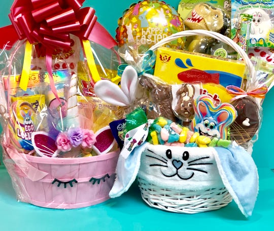 Easter basket options at Sugar Hi in Armonk.