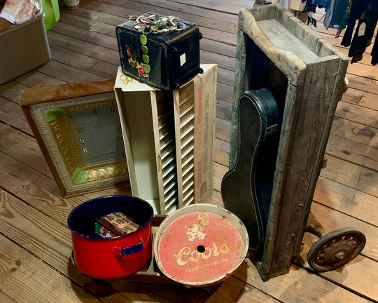 Heritage Antiques, 1503 Lamar; Alley Cat Vintage Mercantile, 1505 Lamar; and Down the Rabbit Hole, 1509 Lamar will have a huge Spring sale of redeemable goods at The Lamar Street Gang's Saturday Junk Revival from 10 a.m. to 4 p.m. Saturday. Afterwards, an auction will sell most of the items not sold.