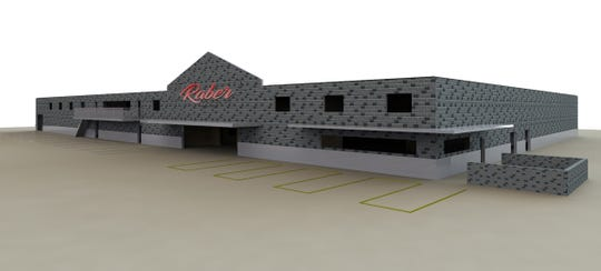 A new, specially-designed 40,000-50,000 square foot processing facility will house an expanded retail area, a larger slaughter floor, processing area and office space for Raber Packing Company in West Peoria, Ill.