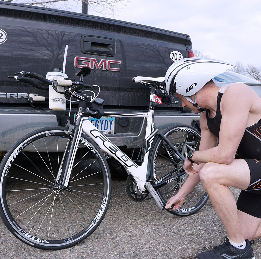Life-changing tragedy inspires local Ironman