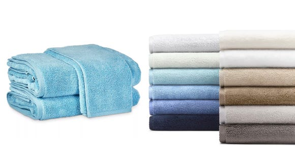 Upgrade your bathroom game with new, super soft and lightweight towels.