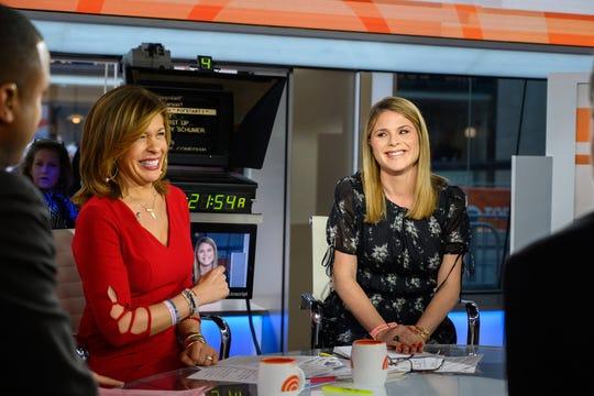 Jenna Bush Hager and Hoda Kotb pictured on Feb. 27, 2019.