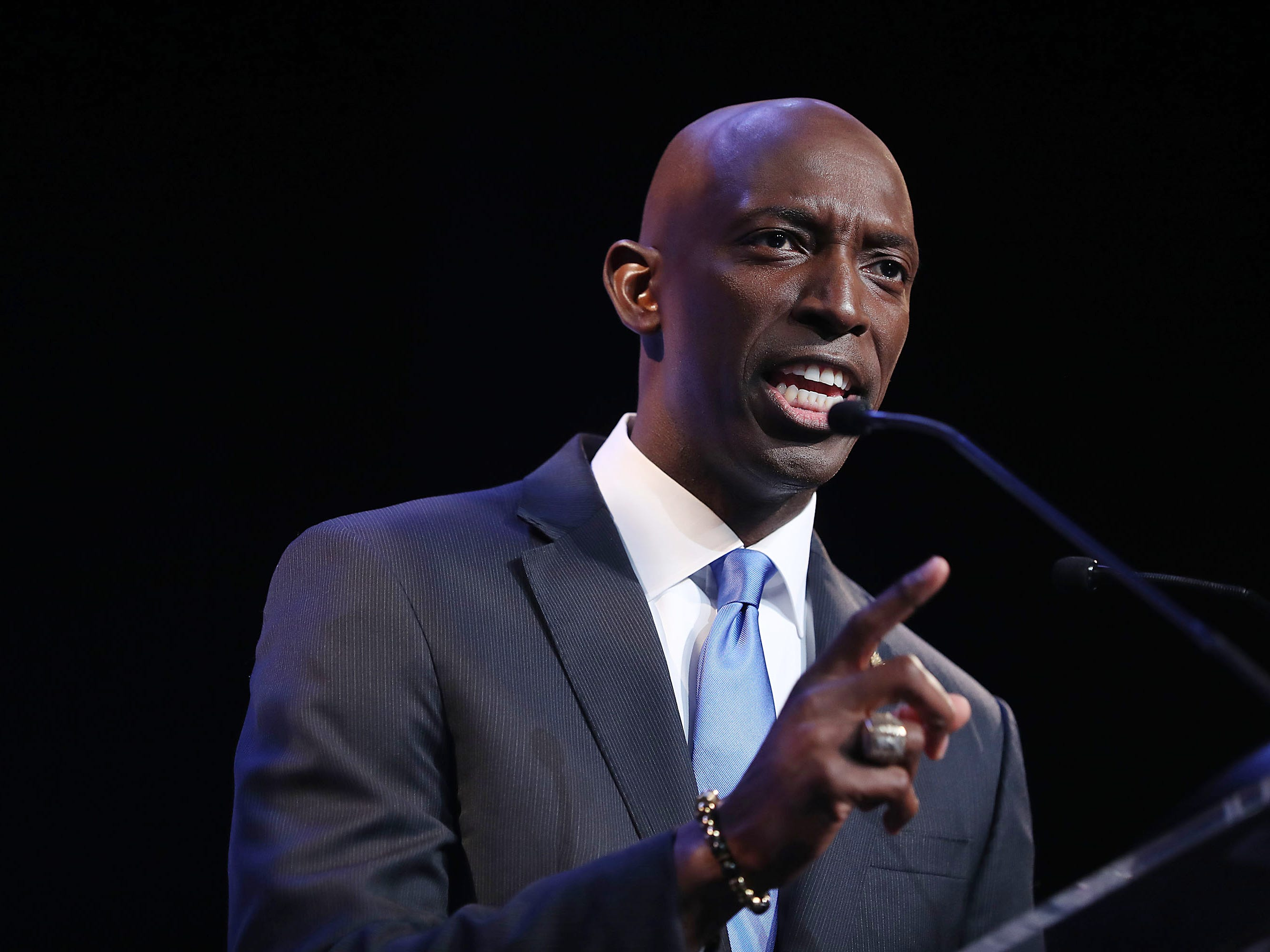 Wayne Messam, the mayor of Miramar, Fla. and a former Florida State football player, announced his plans to run for president in a video released on March 28, 2019.
