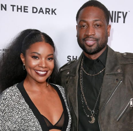 Dwyane Wade and Gabrielle Union showed support for 11-year-old Zion Wade, who marched in the annual Miami Beach Pride parade on their social media accounts this weekend.