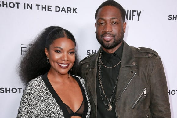 Dwyane Wade and Gabrielle Union showed support on their social media accounts this weekend for 11-year-old Zion Wade, who marched in the annual Miami Beach Pride parade.
