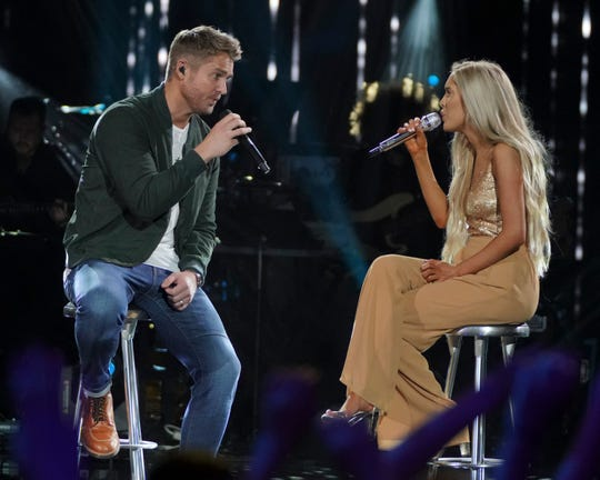 """When """"American Idol"""" contestant Laci Kaye Booth did her duet with country star Brett Young, judge Lionel Richie said, """"I actually thought I was watching a serious love affair on that stage because it was delivered so well."""""""