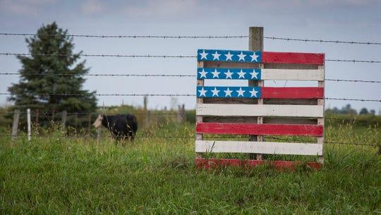 Farm outside Creston, Iowa, on Sept. 8, 2016.