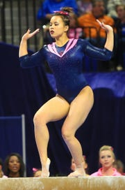 Auburn gymnast Samantha Cerio sustained devastating injuries to both legs during the NCAA Regional.