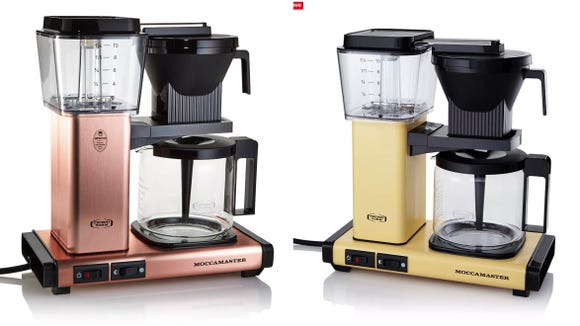 We're absolutely in love with these retro color options for the best coffee maker ever.