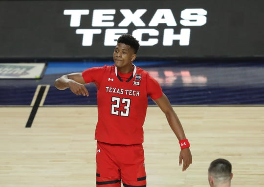 Texas Tech Red Raiders guard Jarrett Culver is a projected NBA lottery pick.