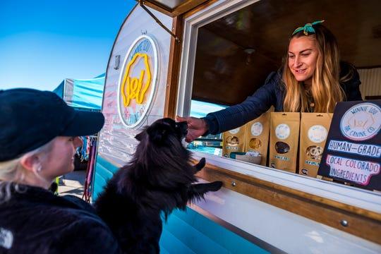 Winnie Lou-The Canine Company food truck.