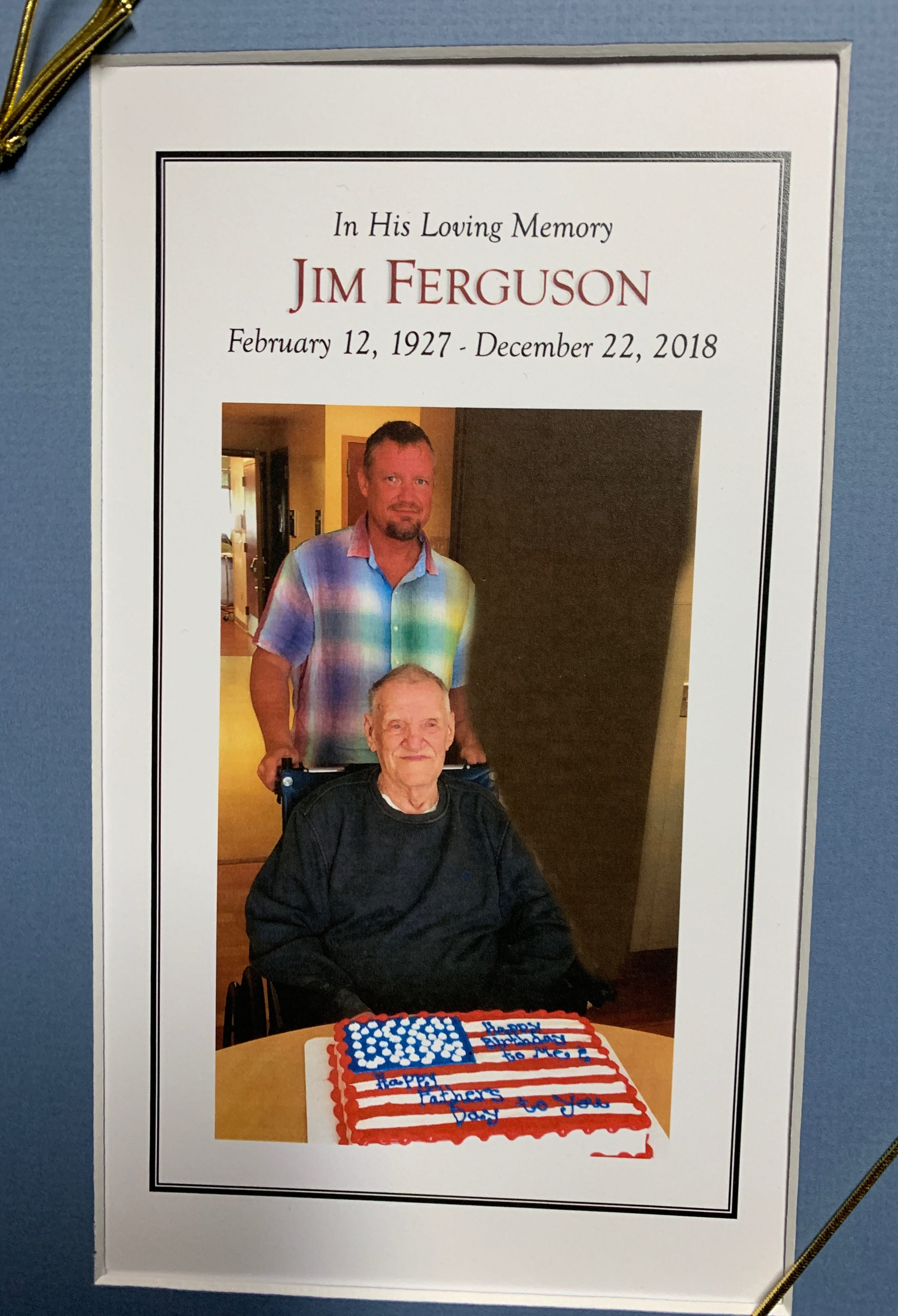 "James ""Milt"" Ferguson Sr. remembrance."