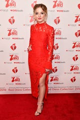 Jackie Evancho attends The American Heart Association's Go Red For Women Red Dress Collection 2019 Presented By Macy's at Hammerstein Ballroom on February 7, 2019 in New York City.