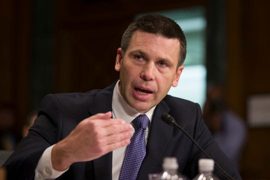 U.S. Customs and Border Protection Commissioner Kevin McAleenan will become the acting head of the Department of Homeland Security, after the resignation of Homeland Security Secretary Kirstjen Nielsen.