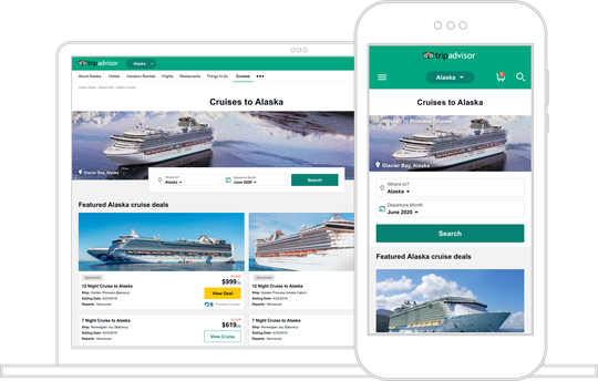 TripAdvisor launches new portal for cruise reviews, research and deals