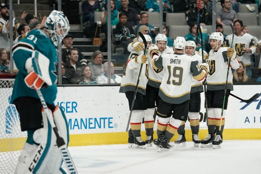 Martin Jones' subpar play could be an issue for the Sharks against the Golden Knights.