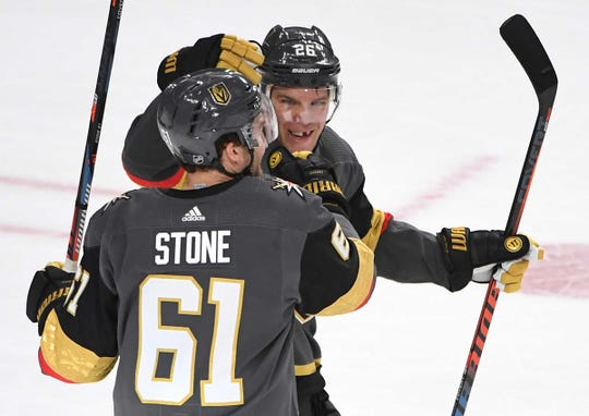 Mark Stone and Paul Stastny make the Vegas Golden Knights stronger this year.
