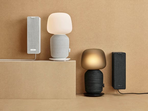 Sonos and Ikea's Symfonisk speakers.