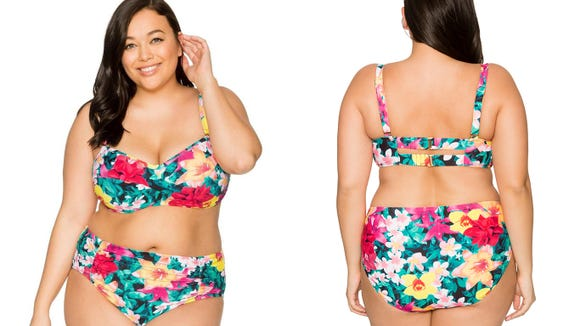 Flaunt your curves with these Everything but Water's swimsuits.