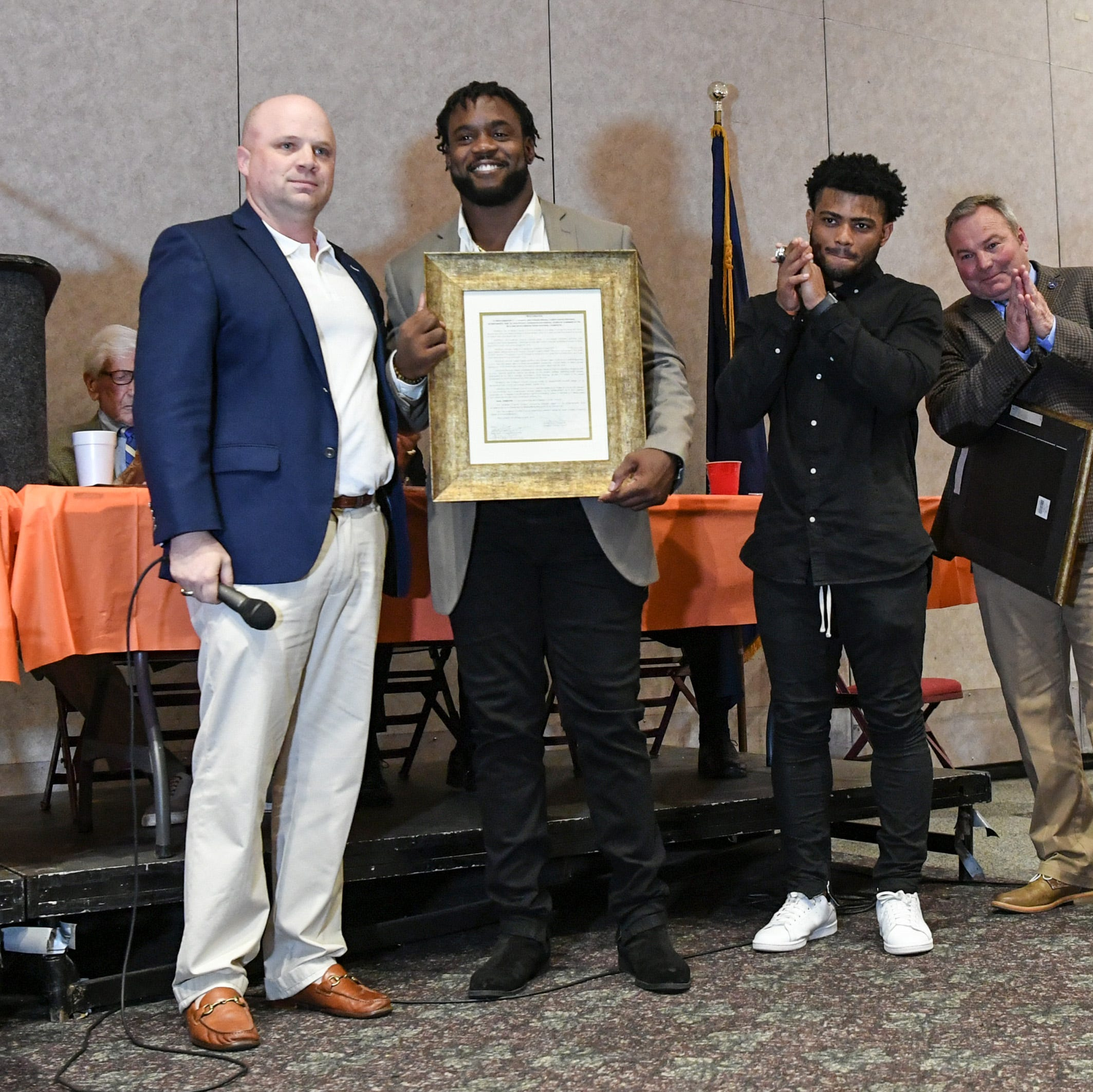 Anderson County, Clemson football honored at annual banquet