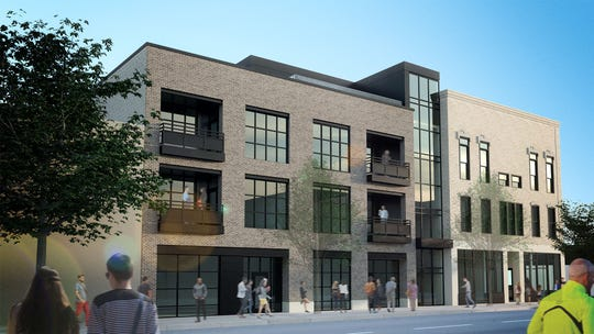 A rendering of Gabriel Lofts courtesy of FORE Development and Investment Group