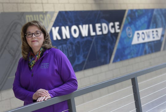 Cindy Reffke of Appleton is the 2019 recipient of the Janet Berry Volunteer of the Year Award for her work with Prevent Suicide Fox Cities. She collaborated with students at Little Chute High School to create a mental health wellness program.