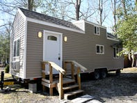 Egg Harbor River Resort in Atlantic County offers the chance to test drive the tiny-home lifestyle as a vacation alternative. This unit was recently constructed and will be available to rent through Airbnb.com.