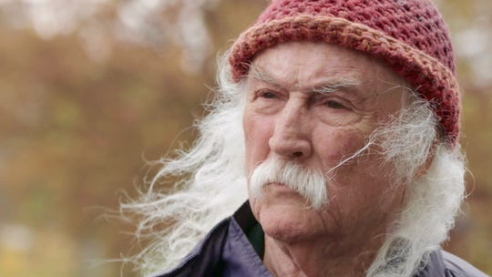 "David Crosby in the documentary ""David Crosby: Remember My Name."""