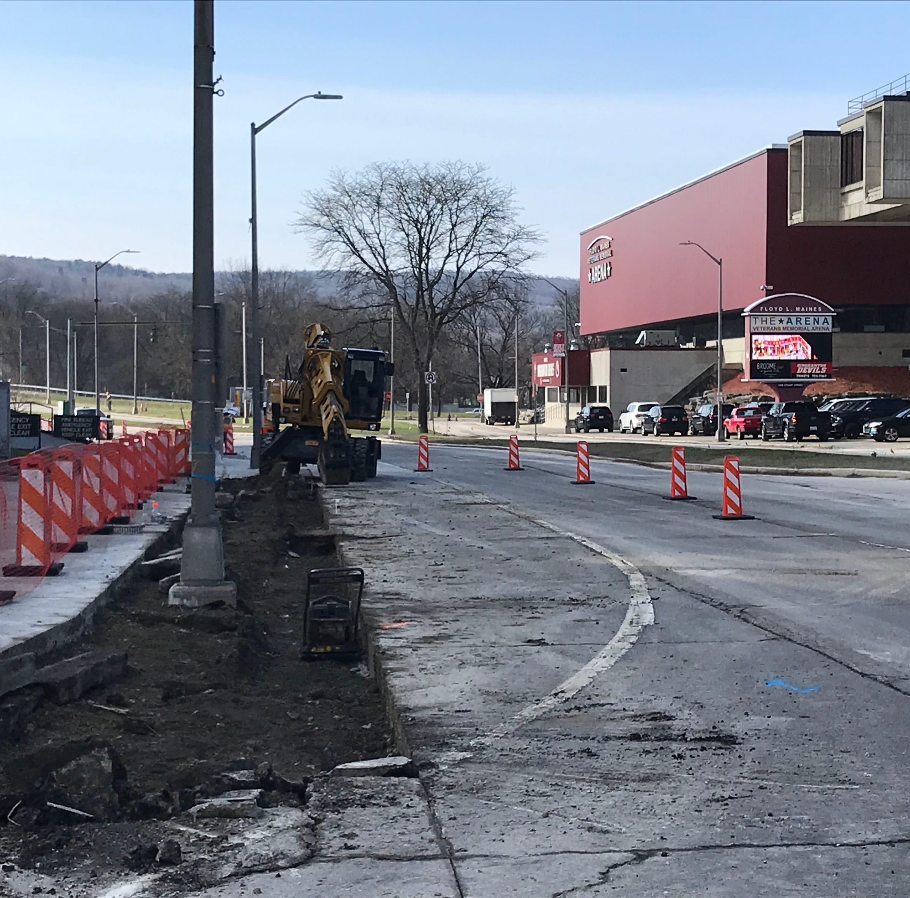 Construction underway on $2.2 million State Street Gateway Project in Binghamton