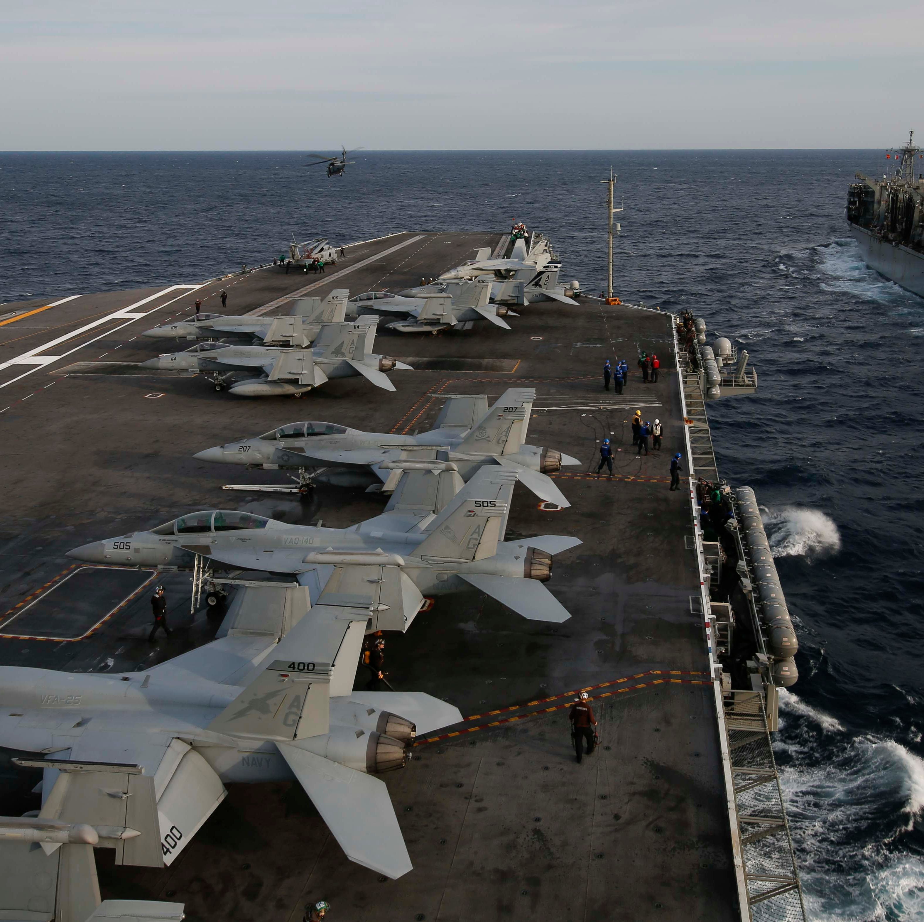 Despite America's needs here, we must think carefully before cutting back on the US Navy
