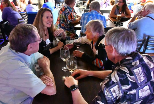 "\On Monday FLORIDA TODAY hosted Civility Brevard's first event, a ""Red and Blue Mixer""  with Space Coast conservatives and liberals meeting to discuss their political views. The event was held at Open MIke's in Melbourne."