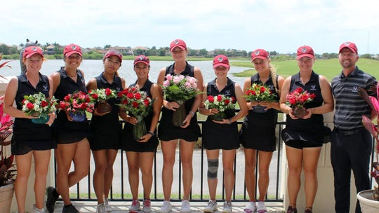 The Florida Tech women's golf team won the Panther Invitational on Tuesday, April 9, 2019.