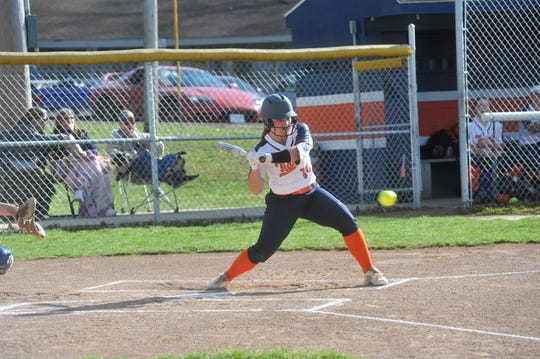 Galion's Kate Schieber led the entire Mansfield News Journal area with 55 hits in 2019.