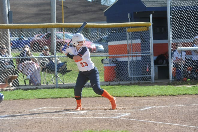 Nevaeh Clark is one of two returning Lady Tigers batters to hit over .500 last year.