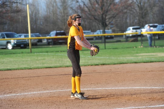 Alivia Studer led the league in stolen bases last year as a freshman.