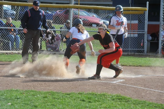 Kate Schieber scored 40 runs as a junior, three more than her freshman and sophomore year combined.