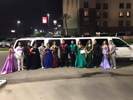 A Corpus Christi couple provided a limo to take 14 Ben Bolt students to their prom after their first limo broke down.